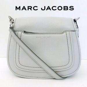 Marc Jacobs Empire City Mini Gray Crossbody Bag